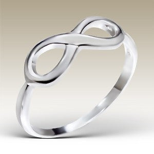 Infinity Sterling Silver Ring - Find Something Special