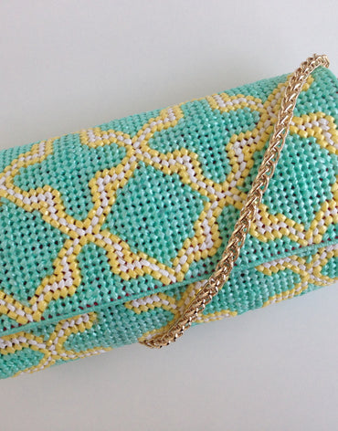 Embroidered Handmade Clutch - Thamania (Small) - Haute Elan