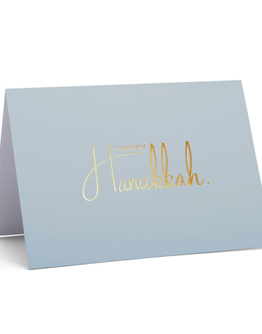 'Happy Hanukkah' Pastel Collection | Powder Blue