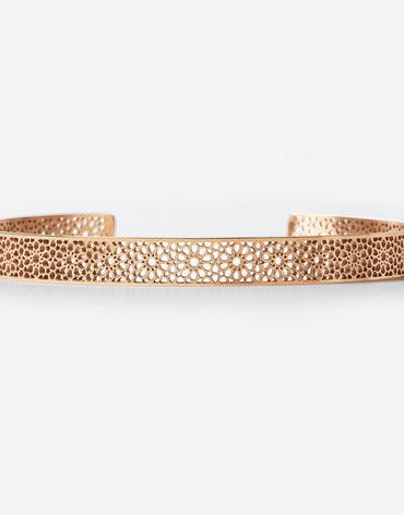Ajman Cuff - Rose Gold - 155mm