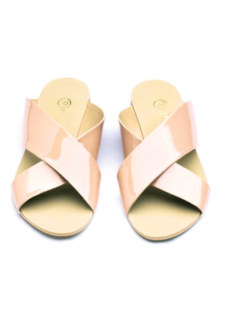 Xtees Nude Vernis Flats