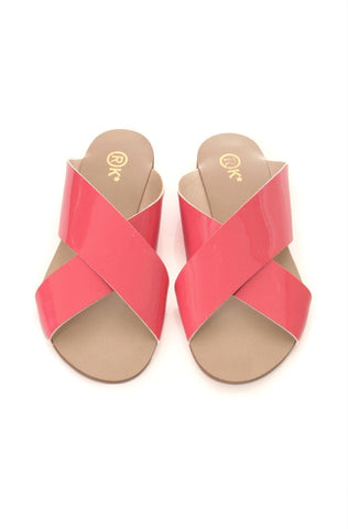 Xtees Salmon Vernis Flats