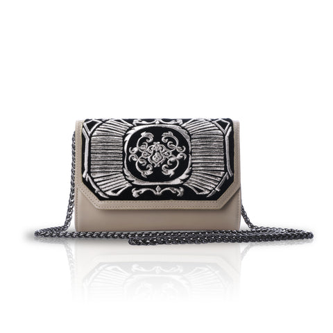 Bronze Print Mini Cross-Body Bag