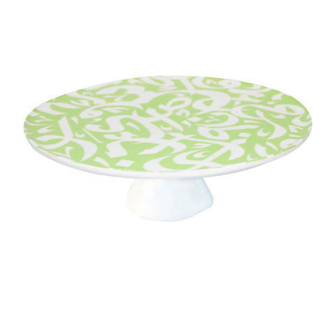 Pastel Green Cake Stand