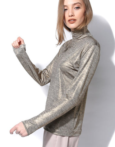 Roll neck top - Haute Elan