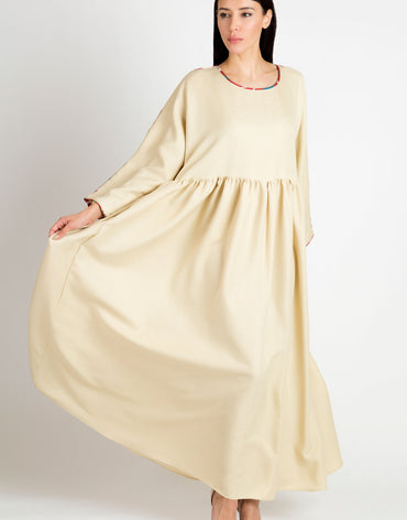 Beige Turkish Kaftan