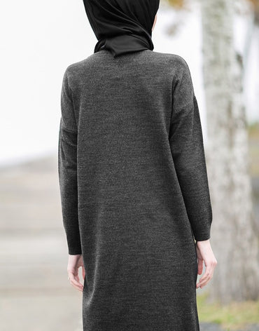 Abaci Black Knitwear Tunic