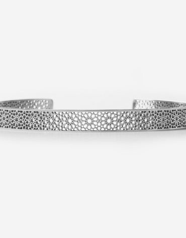 Ajman Cuff - Stainless Steel - 155mm