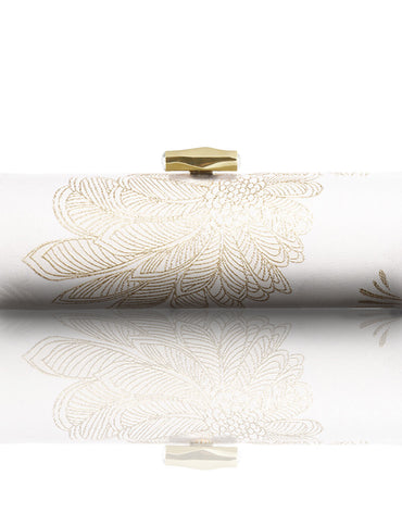 WHITE & GOLD PALMS - Haute Elan