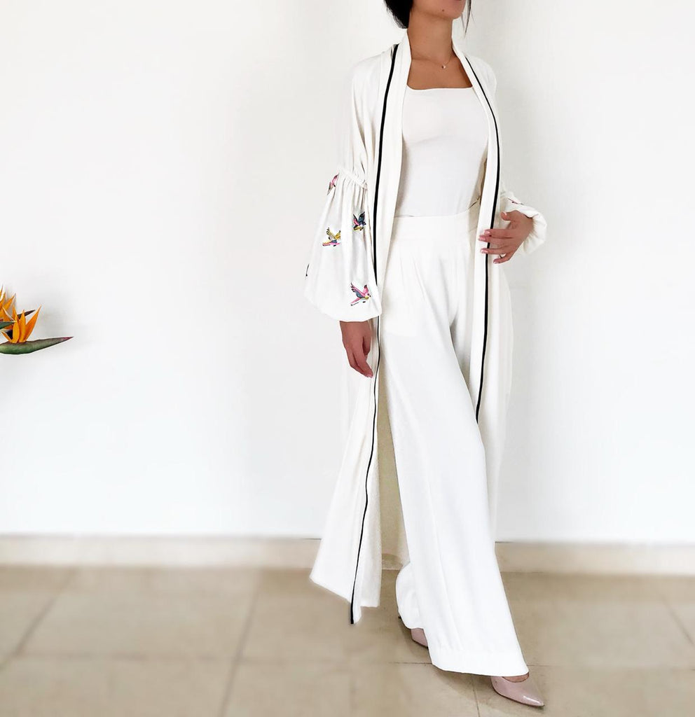 AW18 Off White 8 Birds Abaya