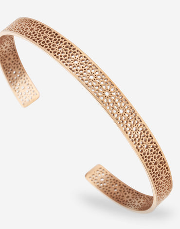 Ajman Cuff - Rose Gold - 180mm