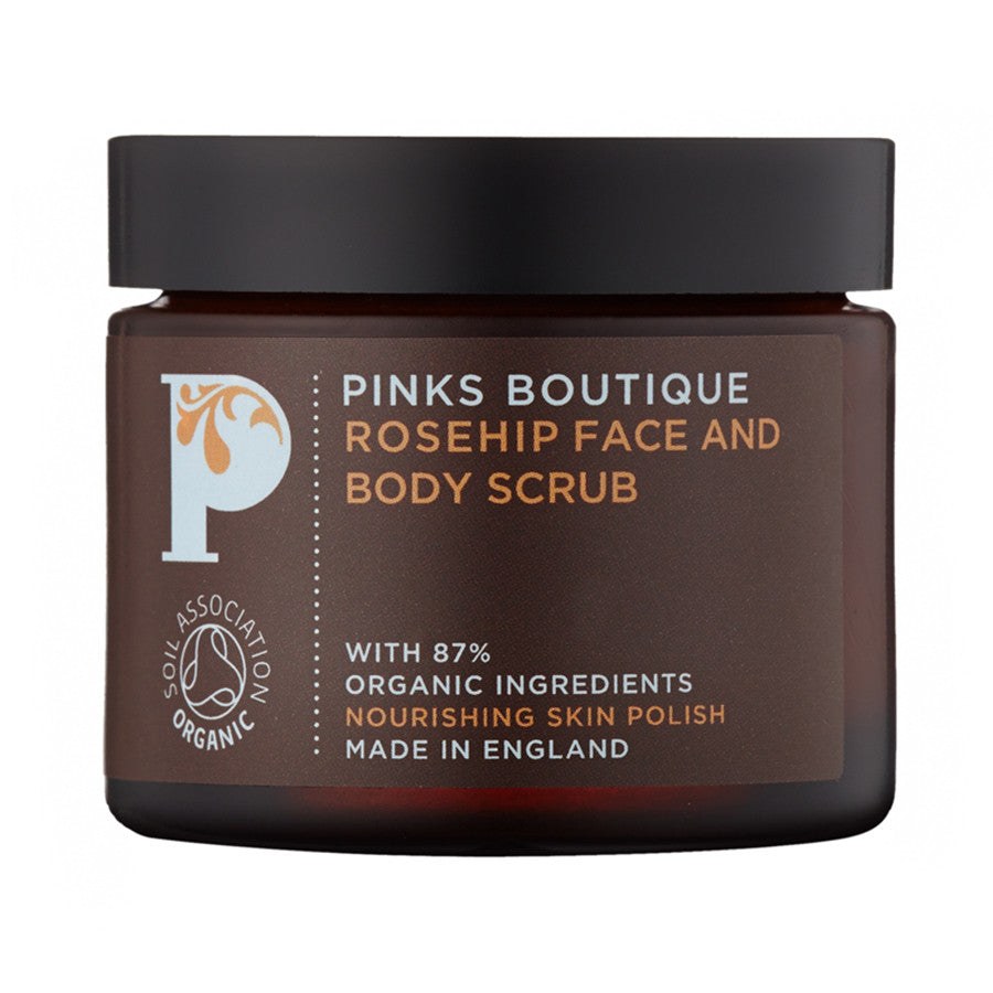 Rosehip Face and Body Scrub 60g - Haute Elan