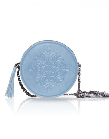 Pastel Blue Cross-body Pouch Bag - Haute Elan