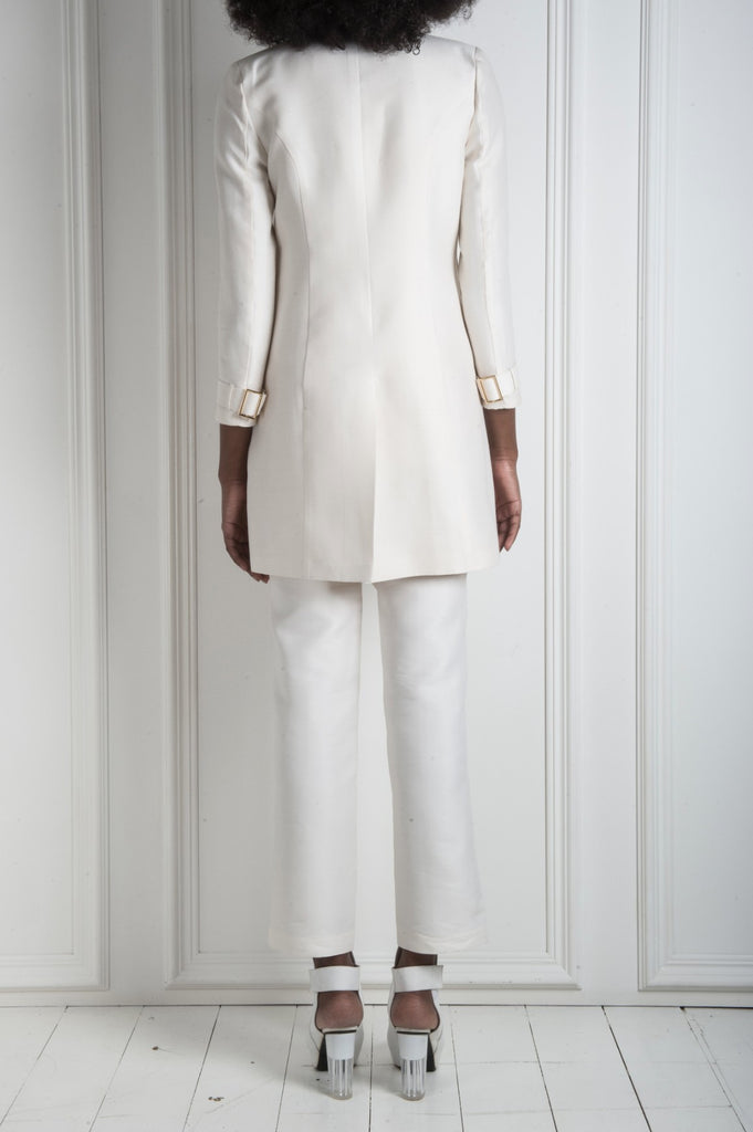 White Jordain Suit