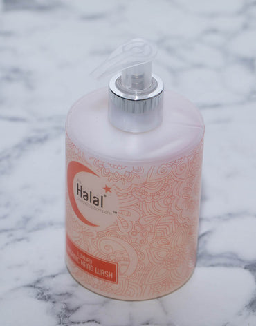 The Halal Cosmetics Company Luxury organic Hand Wash
