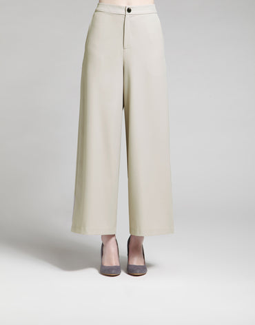 Light Stone Cropped Pants