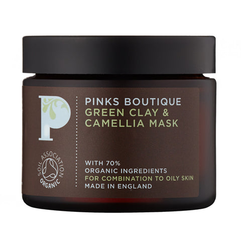 Green Clay & Camellia Mask 70g