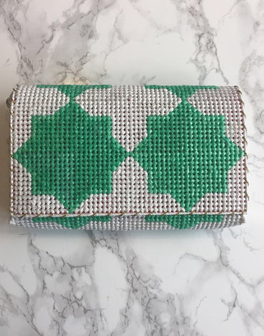 Thamania Green White (Small) - Haute Elan