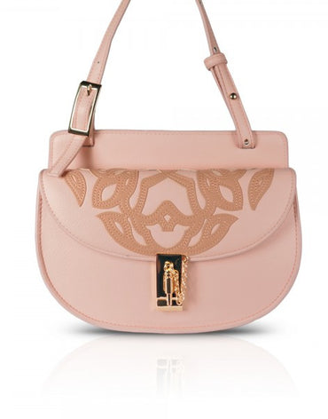 Nude Mini Moon Cross-body Bag
