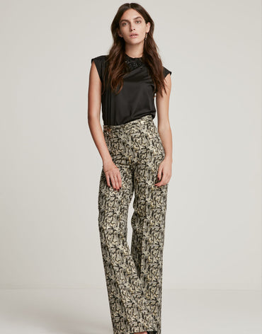 Brocade Pants - Haute Elan