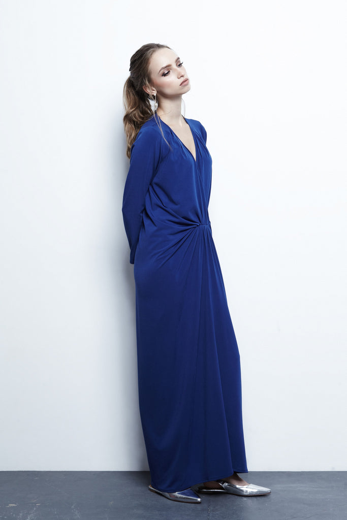 Blue Knot Maxi Dress
