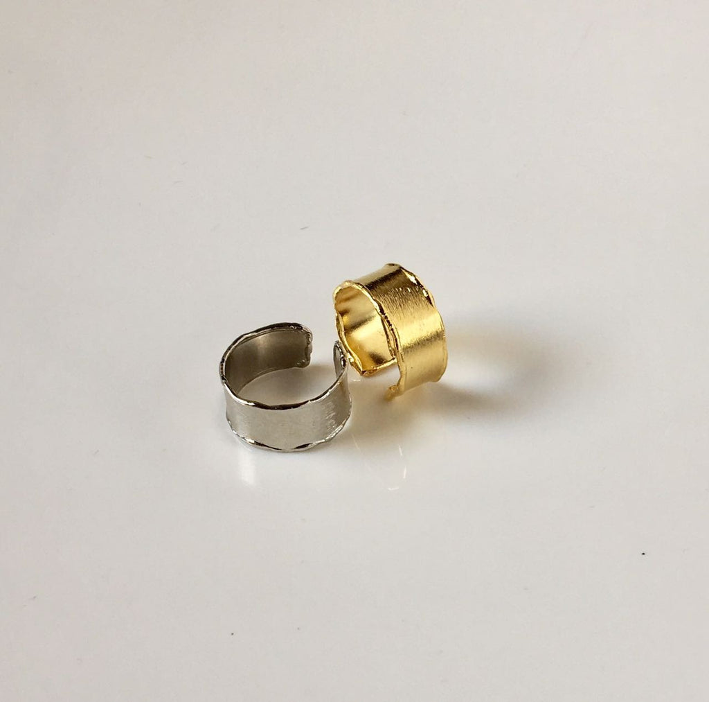 Selsela Ring Plain Silver