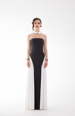 Sounya Long Contoured Dress