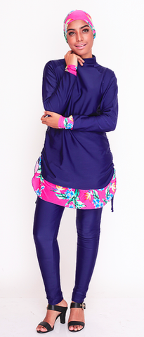 Hortensia Rose Burkini