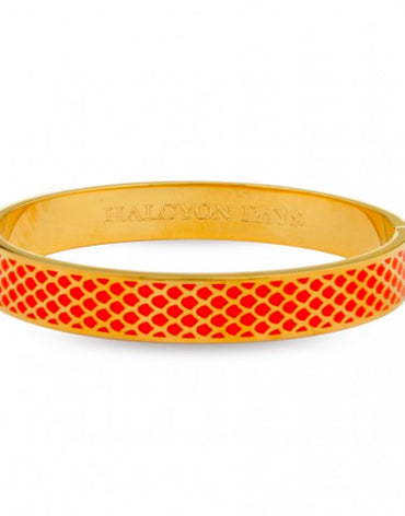 Salamader Orange & Gold Bangle