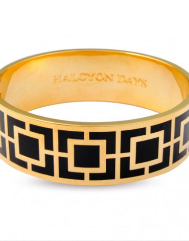 Maya Black & Gold Bangle