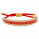 Friendship Agama Sparkle Red & Gold Bangle