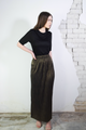 By Lila Black gold skirt - Haute Elan