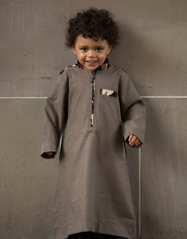Camo Toddler Jubbah - SOLD OUT - Haute Elan