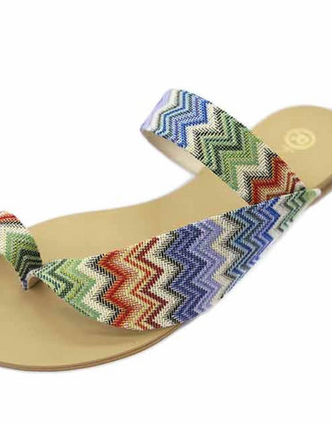Nejdees Missoni Like Fabric Flats