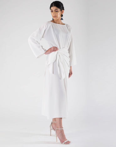 | The Wrap Dress | Ivory