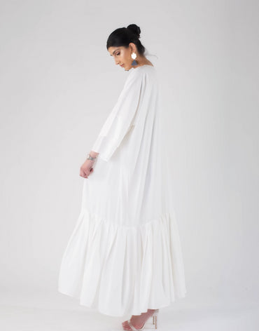| The Oversized Ruffle | Ivory