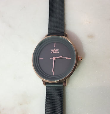 Minimalistic Watch Black - Haute Elan