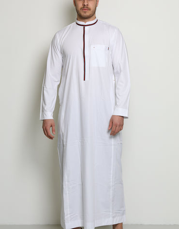 Gucci Inspired Jubbah | White