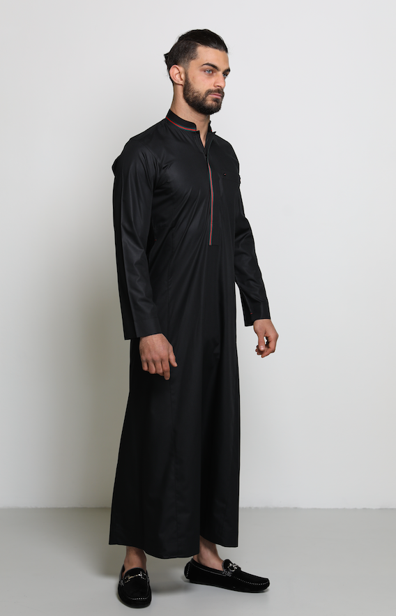Gucci Inspired Jubbah | Black