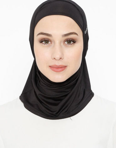 Black Sports Hijab - Haute Elan