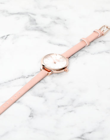 Blush Pink Watch - Haute Elan