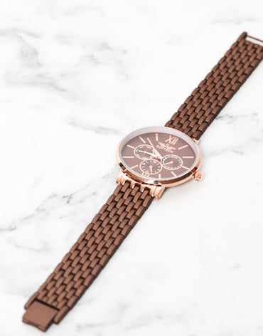 Bronze Watch - Haute Elan