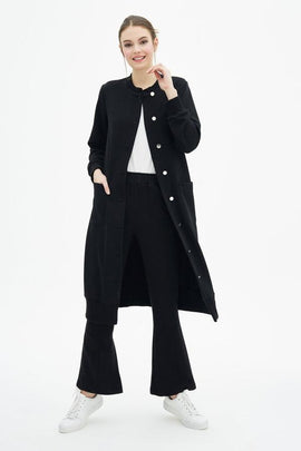 Touché Knit Coat - Haute Elan