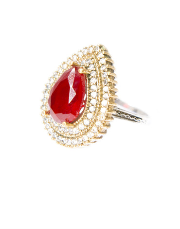 ZARINA COCKTAIL RING - Haute Elan