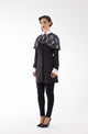 Zoe Shirt-Dress with Cape - Haute Elan