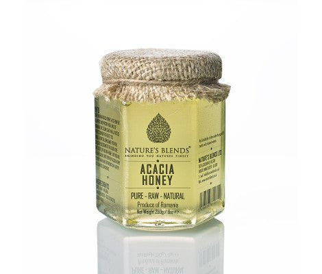 Pure Raw Natural Acacia Honey (250G)