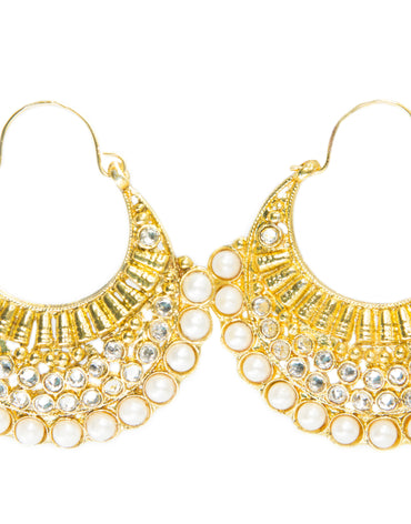 CHAND-BALI EARRINGS - Haute Elan