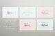 Pastel collection – All occasions greeting card set