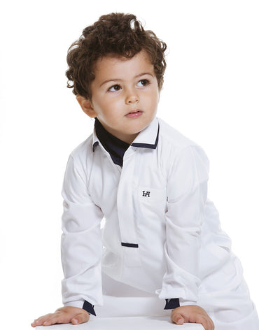 Toby Junior White & Black - Haute Elan