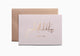 JazakAllah Khayr - thank you card (Pastel collection - Blush Pink) - Haute Elan